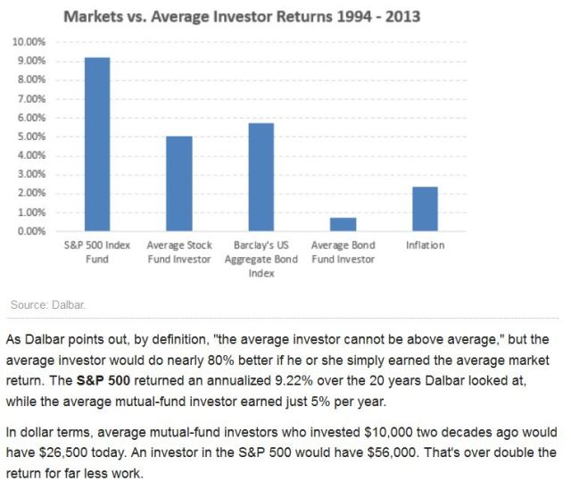 Average Investor Return