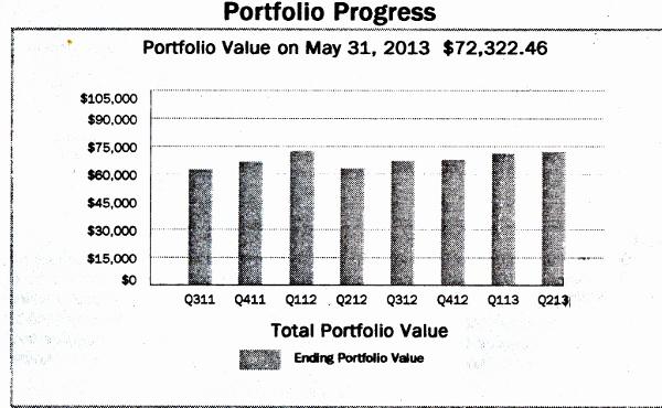 Steve's Portfolio Performance chart